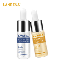 Lanbena Vitamin C Serum+hyaluronic Acid Serum Anti-aging Moisturizing Skin Care Firming Treatment Whitening