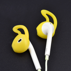 Image 2 - 4Pcs In Ear Eartips Earbuds Earphone Case Cover Skin for Apple for iPhone 7 for AirPods case амбушюры