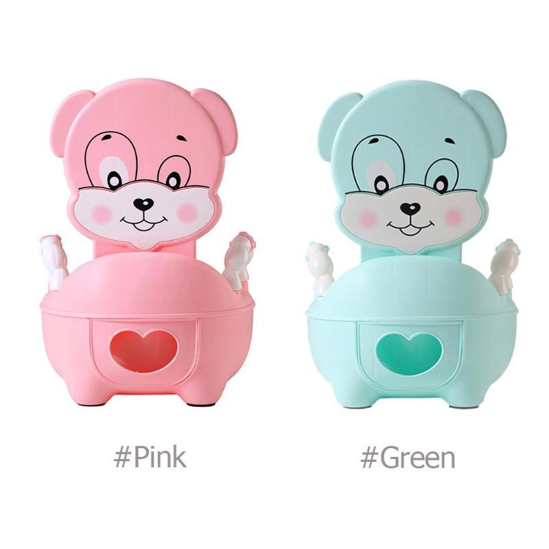Calças de Treinamento Bacio bebé Assento Do Vaso Sanitário Crianças Mictório Mictório Portátil Encosto Portátil Pote de Encosto Confortável Bonito Dos Desenhos Animados
