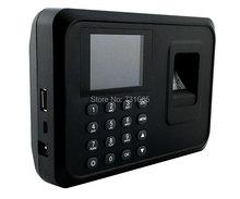 Биометрическое устройство для считывания отпечатков пальцев USB сканер пальца время карты шкафчик бесплатное программное обеспечение пароль для системы безопасности 2,4 дюймов