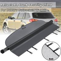 Car Retractable Trunk Tonneau Cover Security Shield For Subaru Outback 2015 2017 Security Shield Shade Car accessories