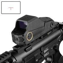 ציד MH1 טקטי Red Dot Sight הכפול תנועת חיישן רפלקס Sight הגדול שדה הראייה ראיית לילה היקף Ak 47