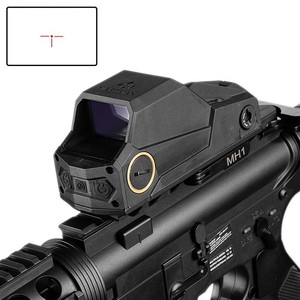 Image 1 - Polowanie MH1 taktyczny celownik z czerwoną kropką podwójny czujnik ruchu celownik refleksyjny największe pole widzenia noktowizor zakres Ak 47