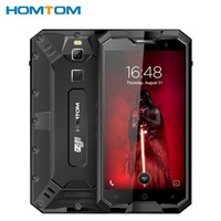 HOMTOM ZOJI Z8 4250mAh 4GB 64GB IP68 Tri proof 5 Inch Mobile Phone 1280*720P Fingerprint 4G Octacore 13+16MP Camera Smartphone