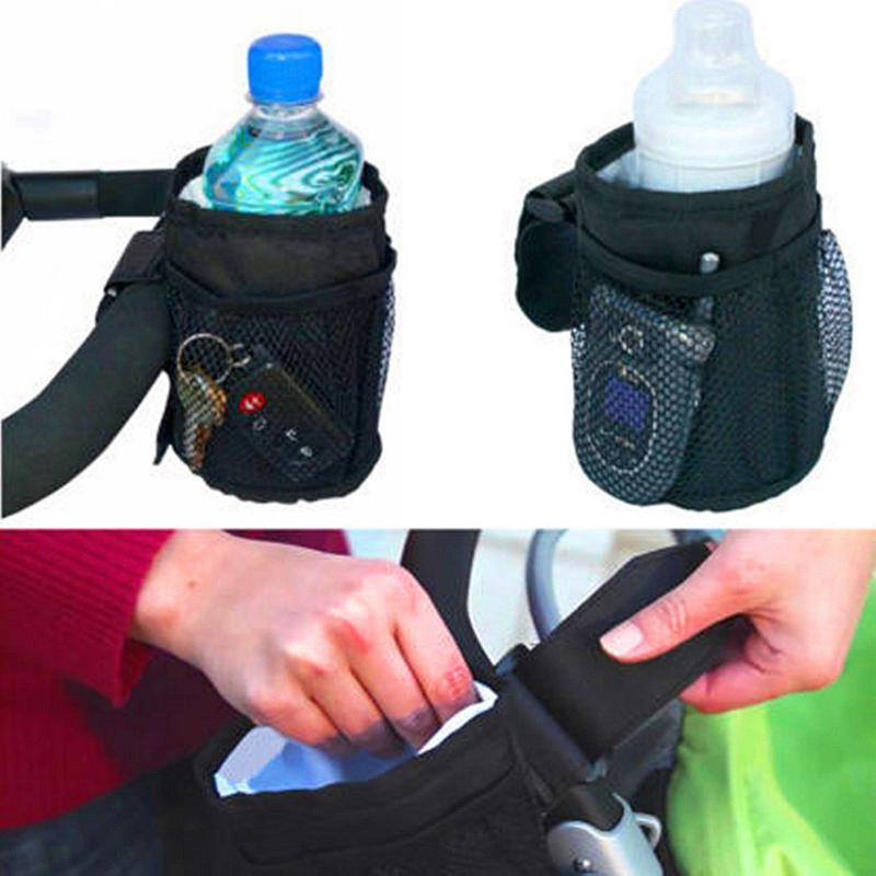 New Kids Baby Care Insulated Bike Cup Drink Holder Waterproof Bottle Cup Bag Buggy Activity Gear Organizer Stroller Accessories