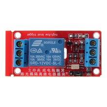 1-canal 12 V H/L Nível de Disparo módulo de Relé Módulo de Relé Optoacoplador para Arduino Nova