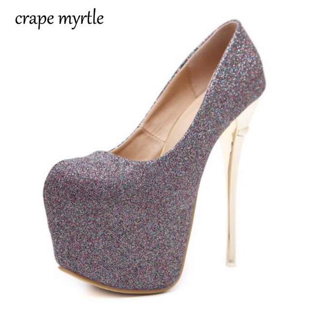 purple shoes high heels pumps women platform heels nude pumps silver wedding  shoes sexy pumps women shoes heels size 34-40 YMA95 06d4c945b362