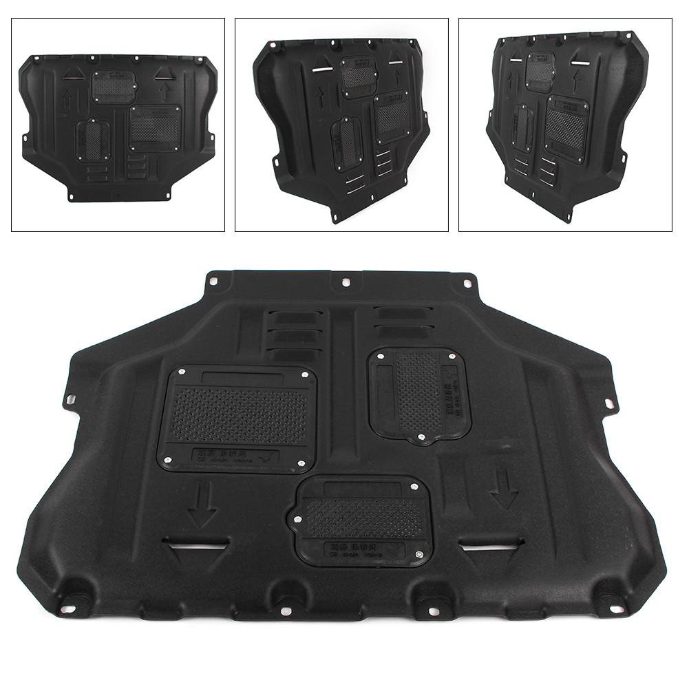 For Ford Escape Kuga Under Cover Engine Splash Shield Mudguard 2013 2014 2015 2016 2017 2018 2019 Auto Car Accessories|Engine Bonnets| |  - title=