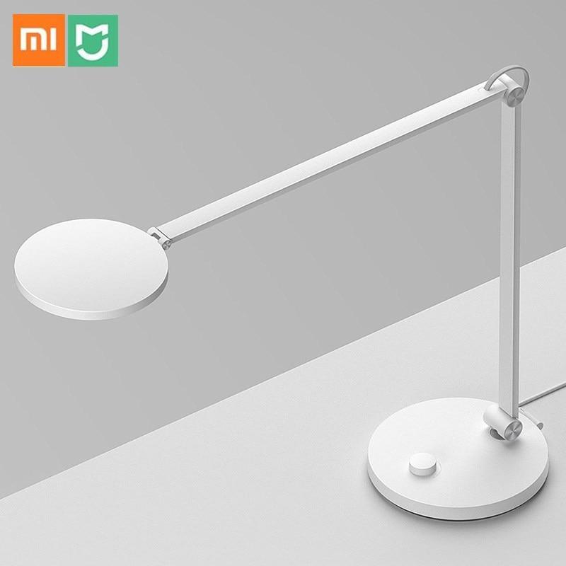 Xiaomi Norma Mijia Lampada Da Tavolo A LED 4800K Eye Protezione Lampada Da Tavolo Triassiale di Disegno Bluetooth Wifi HomeKit Norma Mijia APP Remote di controllo