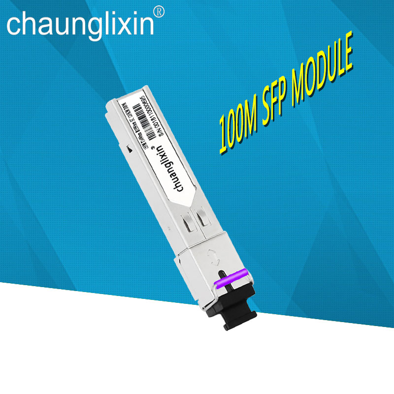 155M 100KM/120KM SC sfp module BiDi 1490nm/1550nm WDM SFP Module SC Compatible brand switch 1pair