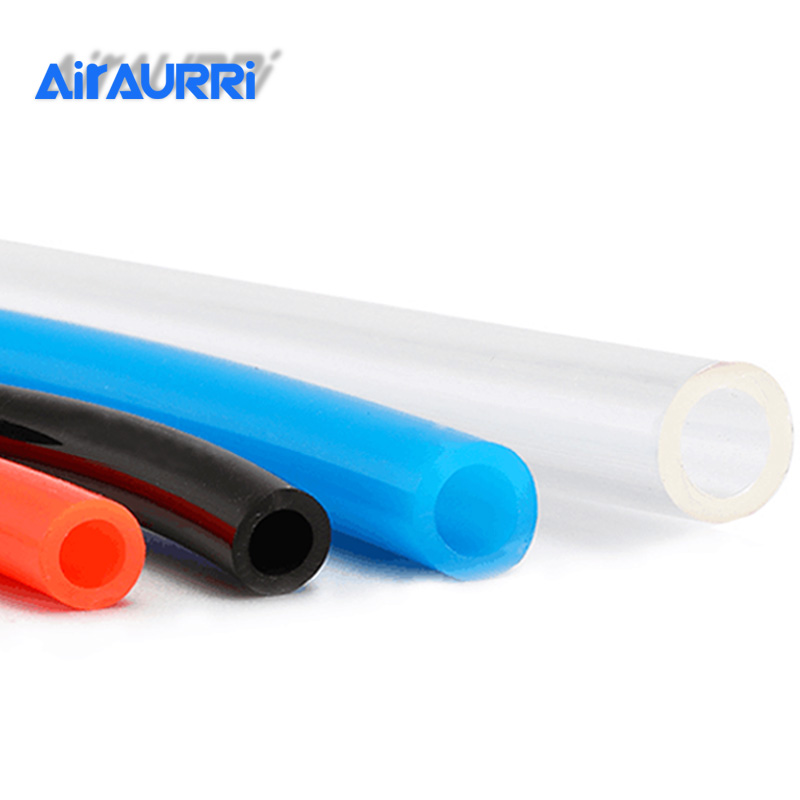 1M Air Tubing Pneumatic Pipe Tube Hose  Gas Pipe Hose 10mm OD 6.5mm ID 8mmx5mm 6mm X 4mm 2.5mm 12x8mm Transparent Blue Red PU