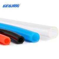 8mm x 5mm 6mm x 4mm 6.5mm 12x8mm plutônio vermelho azul transparente mangueira pneumática 10mm od 2.5mm da tubulação do tubo da tubulação do ar de 1 m