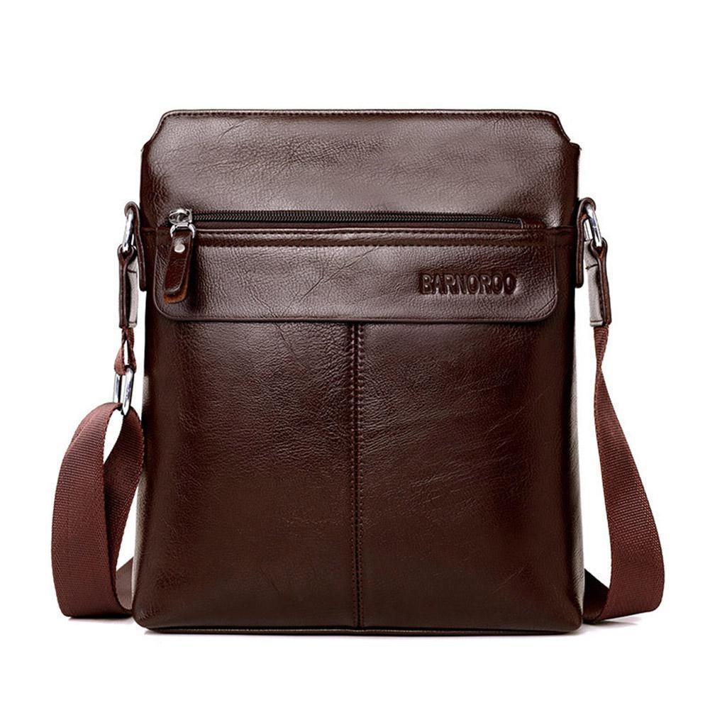 Männer Umhängetasche Mode-business Schulter Taschen Pu Leder Umhängetasche Hohe Qualität Casual Große Kapazität Handtasche Zk30