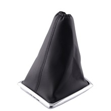 Gear Shift Knob With Gaitor Leather Boot Cover  PU Dustproof Collars For Ford Focus 2005-2009