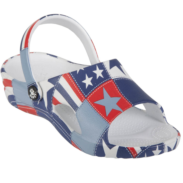 Kids' Loudmouth Slides - Betsy Ross