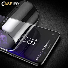 CASEIER Tempered Glass  Screen Protector For Samsung Galaxy S9 Plus 3D Curved Soft PET Protective Film Note 8 9