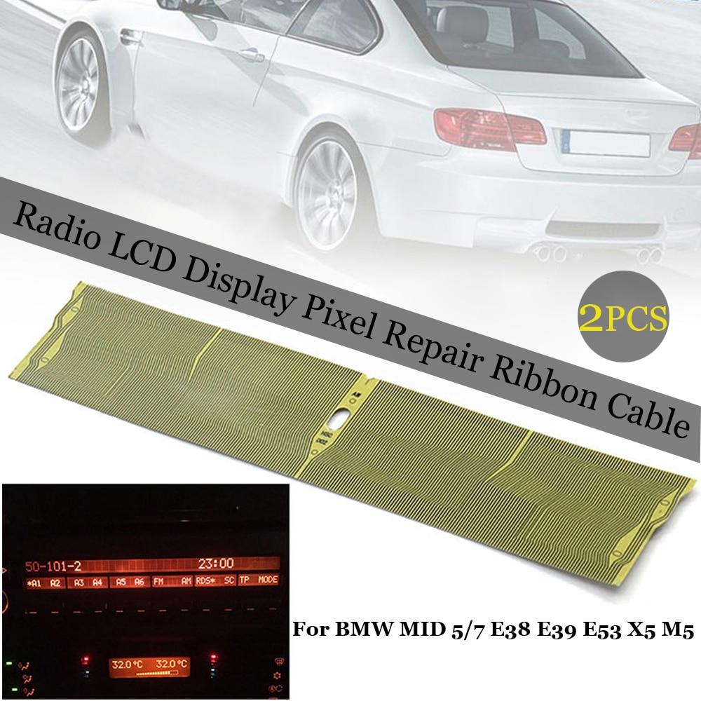 Radio LCD Display Pixel Repair Ribbon Cable  for BMW E38 E39 E53 X5