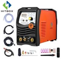 HITBOX Tig Arc Welder Aluminum Welding ACDC 220V TIG200P Inverter Welding Equipment Functional Long Distance Control Machine