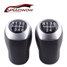 цены SPEEDWOW Gear Shift Knob Stick Head Manual Transmission Lever Handle Shifter Handball For Hyundai Solaris Verna MT Low Edition