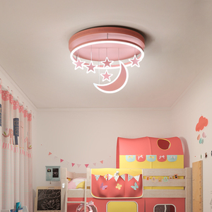 Image 3 - New Ceiling Lights Girl Children Room Bedroom Modern LED Lighting Surface Mount   Remote Control Indoor Lamp Lampara Techo