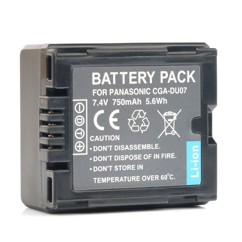 CGA DU06 DU07 Bateria recarregável baterias Da Câmera para Panasonic CGR CGA-DU21 CGA-DU21A CGR-DU06 CGR-DU07 VSB0470 VW-VBD070