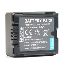 CGA CGR DU06 DU07 rechargeable Battery Camera batteries for Panasonic CGA-DU21 CGA-DU21A CGR-DU06 CGR-DU07 VSB0470 VW-VBD070
