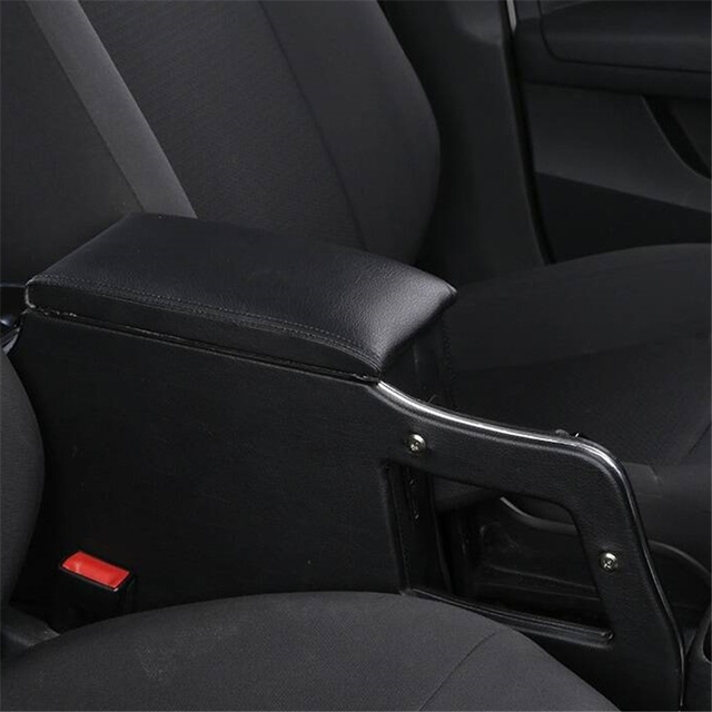 protector Parts Arm Rest Car-styling Car Decoration Accessory Accessories Mouldings Upgraded Armrest Box 17 FOR Skoda Rapid