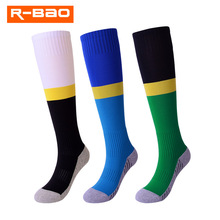 R-BAO Hot Sale 1 Pair Sports Socks Knee Legging Stockings Soccer Baseball Football Over Ankle Boy Girls Kids