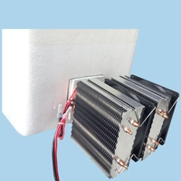 DC 12V 20A 72W Semiconductor Refrigeration Peltier Cooler Air Cooling Radiator DIY Mini Fridge Cooling System Tools