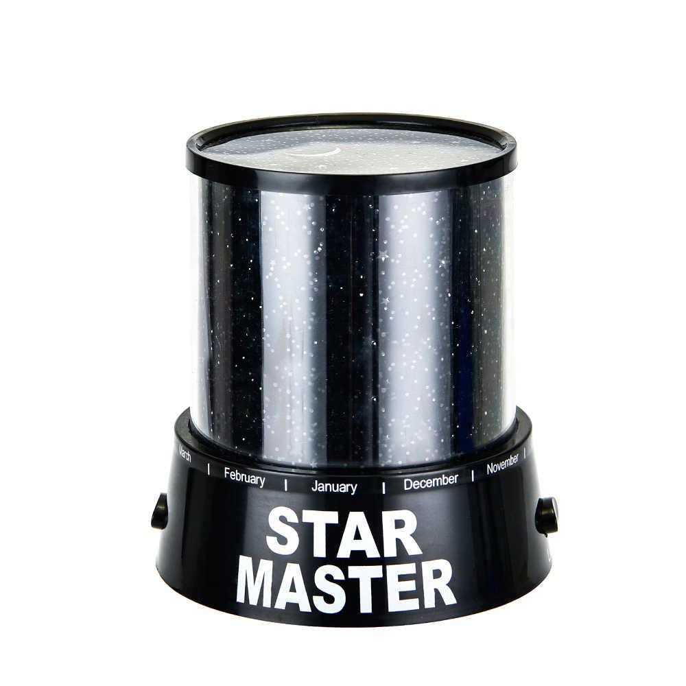 Новейшее украшение ночной свет светодиодный Starlight проектор лампа красочный небесно-звездный Романтический Звездный ночной Светильник для спальни дома