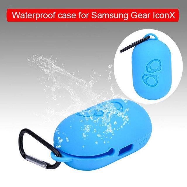 Funda suave para auriculares Samsung Funda impermeable de silicona para Samsung Gear IconX 2018 portátil Simple Funda Dropshipping