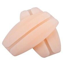 Новейший мягкий силиконовый полупрозрачный Противоскользящий подплечник 2 шт./лот, для облегчения боли, бюстгальтер, ремень, подушки, нескользящий держатель