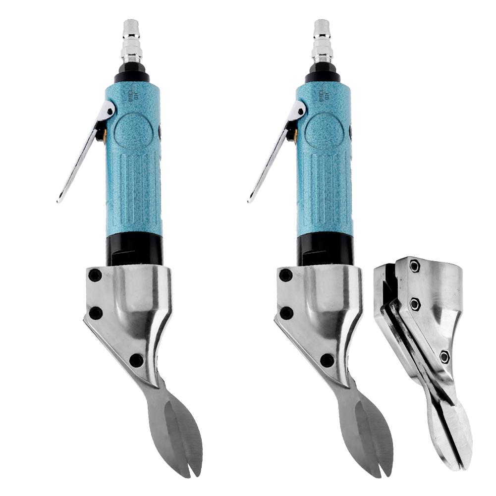 Industrial Straight Type Handheld Air Scissors Pneumatic Cutting Tool 2500rpm High Quality