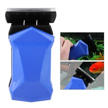 Aquarium Fish Clean Brush Glass Algae Scraper Magnetic Cleaner Scrubber Aquarium Window Cleaner Brushes Seaweed scraper Scrubber