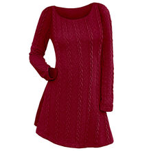 8f15f25bd8c Popular Cable Knit Dresses-Buy Cheap Cable Knit Dresses lots from China Cable  Knit Dresses suppliers on Aliexpress.com