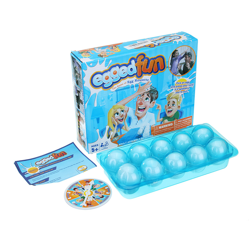 Board Game Egged On Game Funny Interactive Gadgets Egg For Parent-Child Anti Stress Toys Children Party Games Kids Gift Plastic