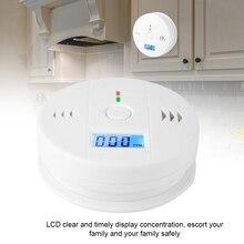 Высокое качество Угарный газ сигнализация CO дым интеллектуальный датчик травления Предупреждение ющий детектор распродажа