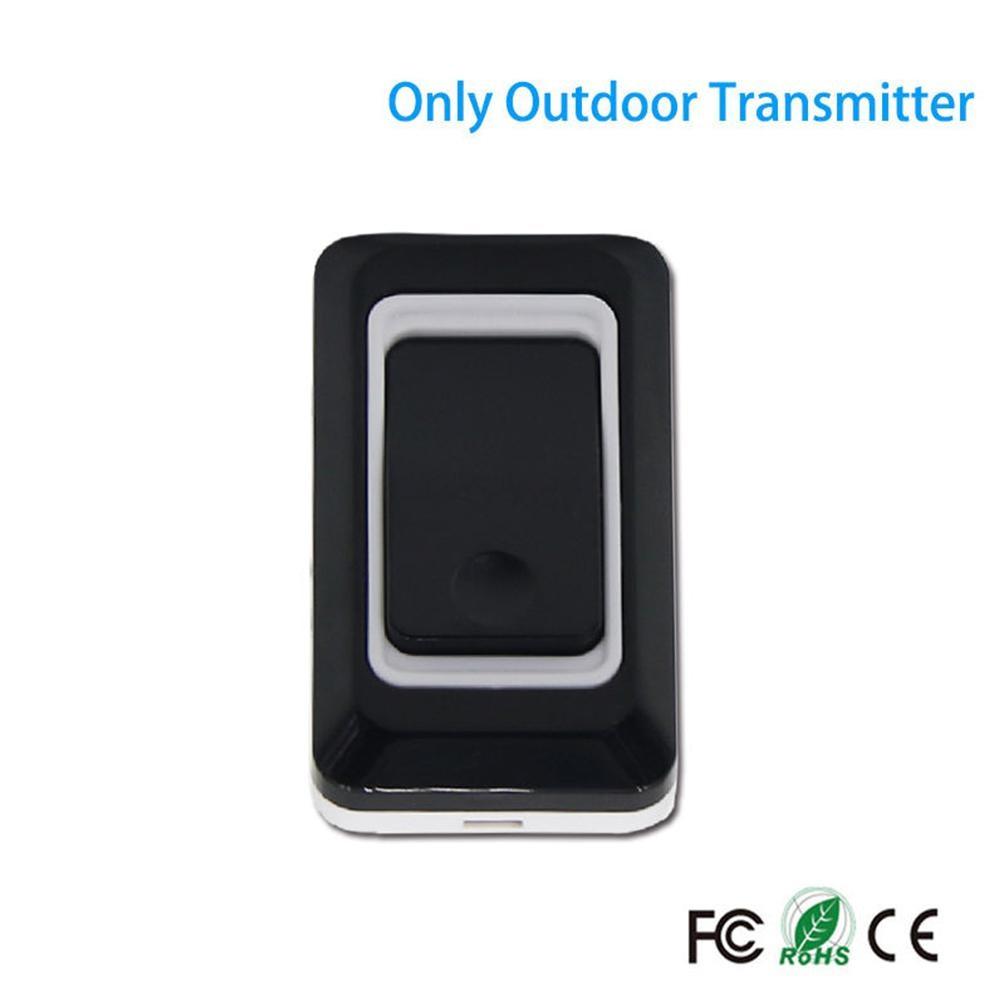 Home Wireless Long Distance DoorBell Waterproof Security Door Bell Transmitter Receiver