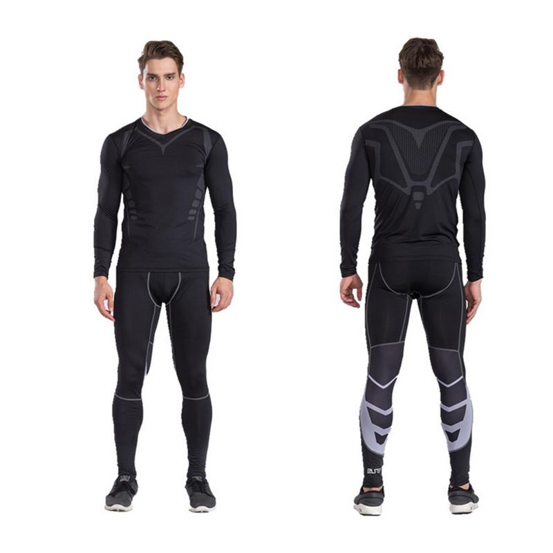 Mens Compression Pants Running Tights Stretch Pants Fitness Gym Pants Sports Marathon Pants Men ClothingMens Compression Pants Running Tights Stretch Pants Fitness Gym Pants Sports Marathon Pants Men Clothing