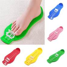 Children Baby Foot Size Shoes Size Measurement Tool ABS Baby Car Adjustable Range 0-20cm size(China)