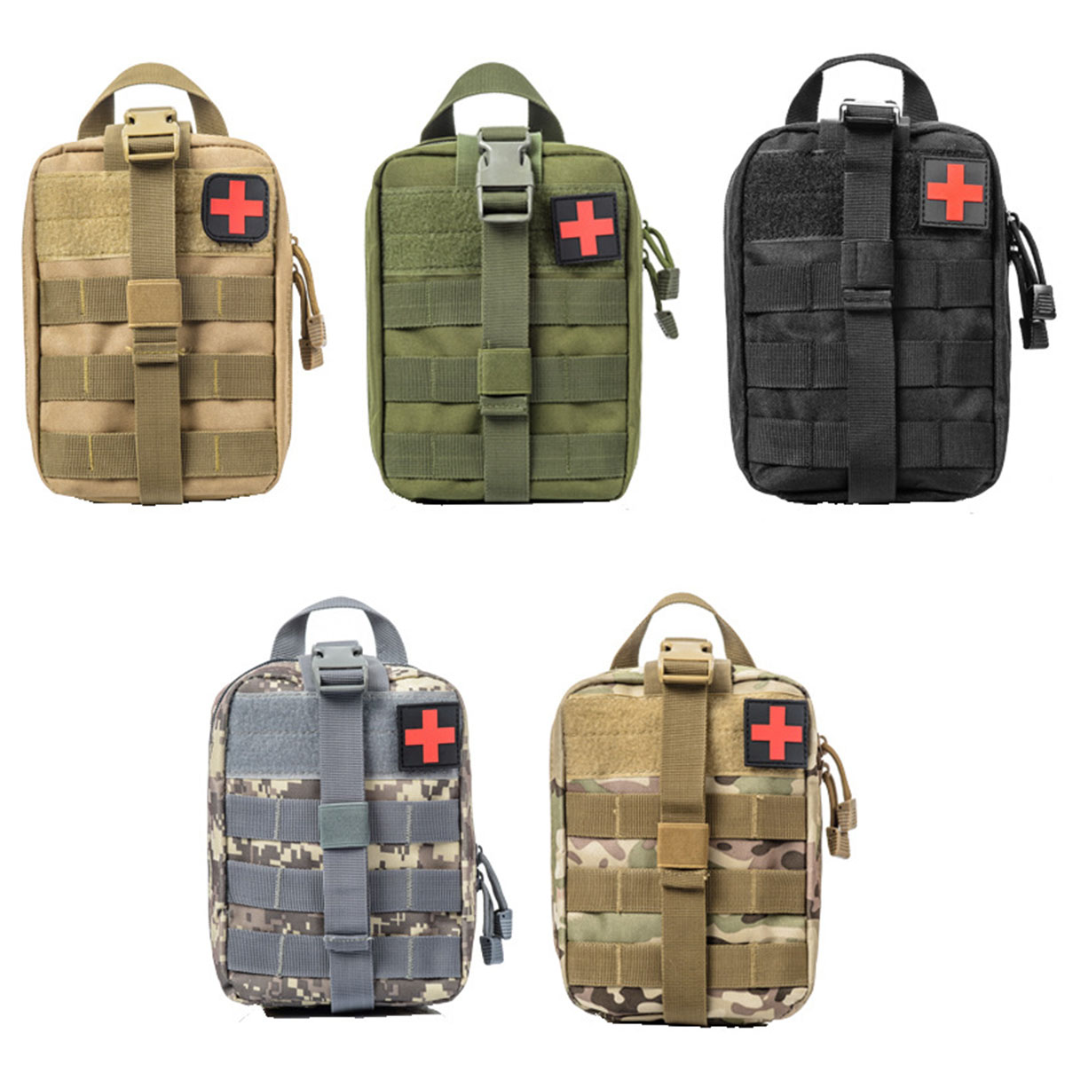 600D Nylon Outdoor Tactical Medical Bag Travel First Aid Kit Waterproof Pack Camping Climbing Bag Emergency Case Survival600D Nylon Outdoor Tactical Medical Bag Travel First Aid Kit Waterproof Pack Camping Climbing Bag Emergency Case Survival