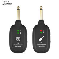 Zebra Guitarra Wireless Audio Transmission Set with Receiver Transmitter For Electric Guitar Bass Violin Musical Transceiver