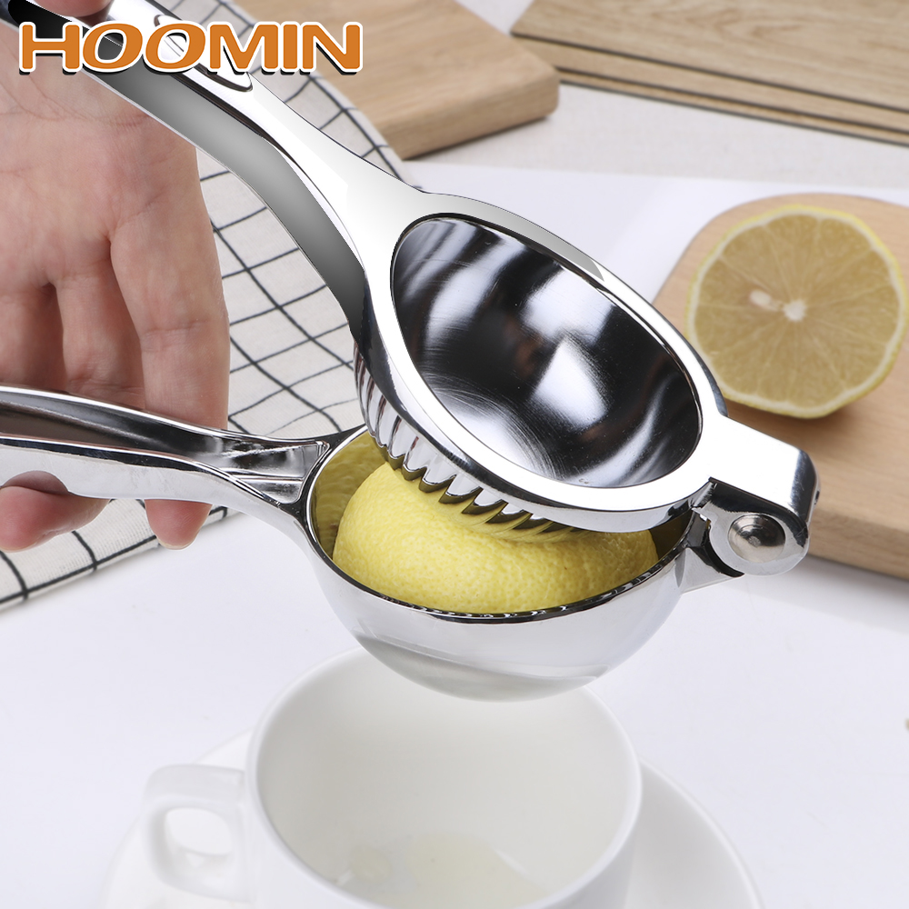 HOOMIN Manual Citrus Juicer Hand Orange Lemon Fruit Press Squeezer Juicer Machine Stainless Steel Manual Juicer