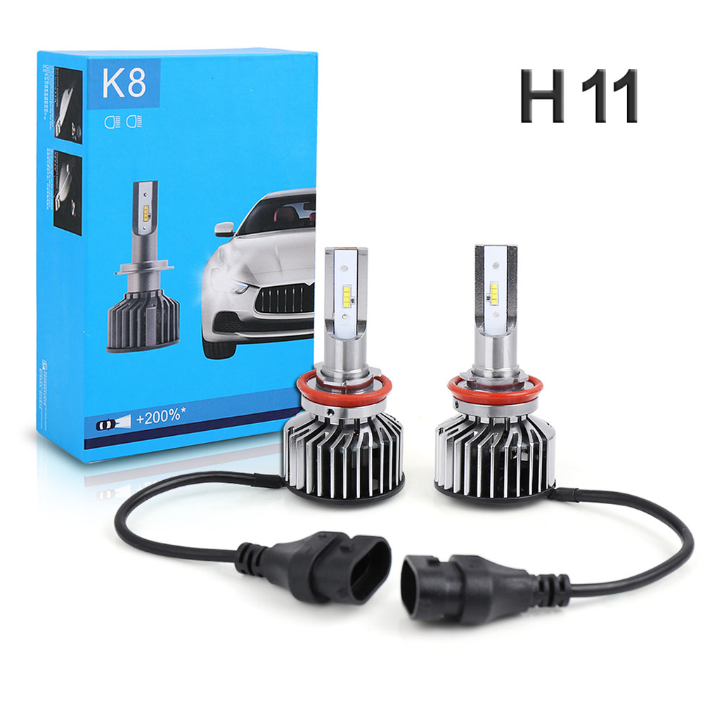 Genuine K8 9005/9012/H1/H3/H4/H7/H11 Car for Philips LED Headlights 6000K 6800LM 55W