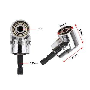 Image 5 - Right Angle Drill 105 Degree Right Angle Driver Angle Extension Power Screwdriver Drill Attachment 1/4inch Hex Bit Drill Bit