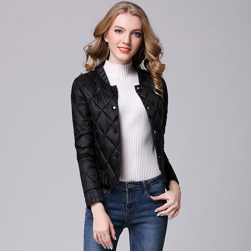 436d273e2c1 Spring Winter Women Ultra Light Down Jacket Casual Female Portable duck  feather Coat Jackets Lightweight Parkas-in Down Coats from Women's Clothing  on ...