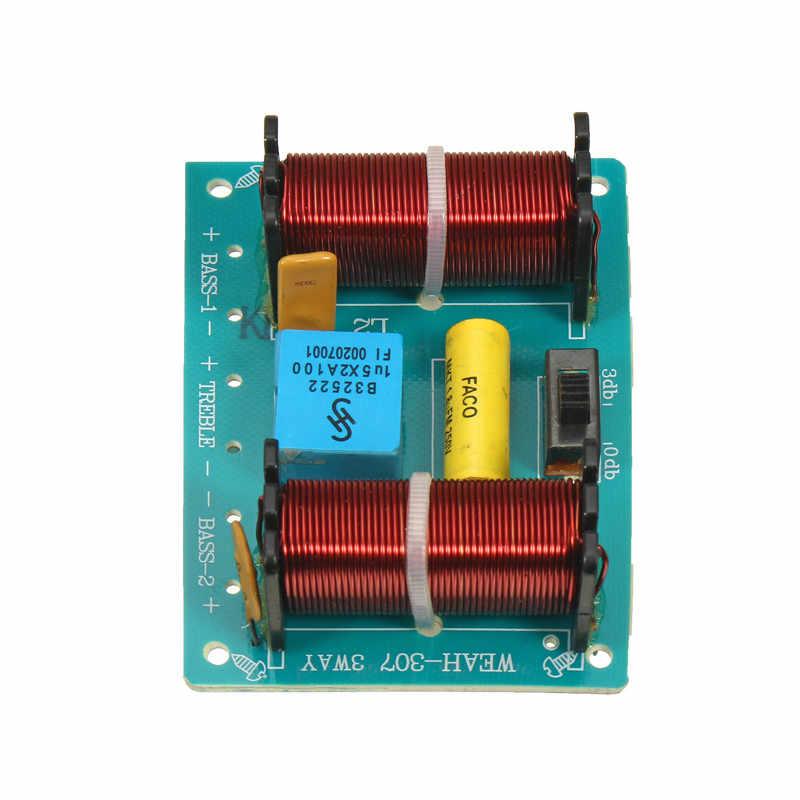 Weah-307 100 W casa altavoz 3 divisor de frecuencia módulo triple doble Bass altavoz de Audio divisor por debajo de 10 pulgadas altavoz