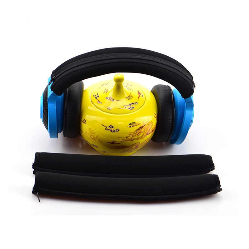 LEORY ochronna z pałąkiem na głowę pokrywa dla Razer Electra słuchawki elastyczne osłoną na zamek błyskawiczny miękkie wkładka z pałąkiem na głowę