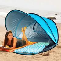 2 3 People Quick Opening Sunshade Sunscreen Automatic Outdoor Beach Tent barraca Barraca De Acampamento Camping Family Tent