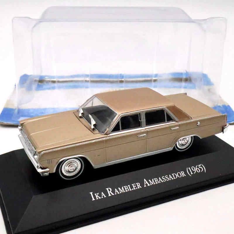 IKA Rambler Embaixador 1965 Modelos Diecast IXO Altaya 1:43 Edição Limitada Coleção de Brinquedos Do Carro